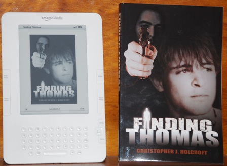 Finding Thomas books by Christopher J. Holcroft